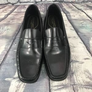 Rockport Black Penny Loafers Slip Ons